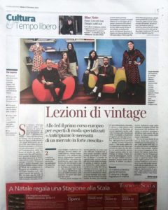 corso vintage system ied